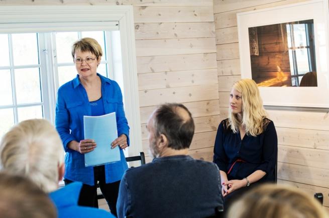 Artist talk with artist Signe Christine Urdal and Hanne Sundbø