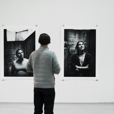 Exhibition Spriten kunsthall / Blindsonen, Untitled (2013) 110 x 150 cm, Signe Christine Urdal / BONO