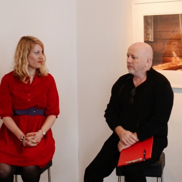 Artist talk with Signe Christine Urdal and Eyvind Hjelmen at Gallery Giga (NO)