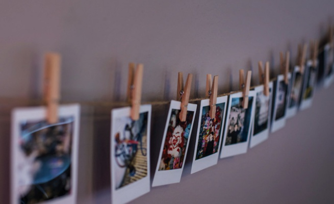 Photographs made by children as a part of workshop at Stavanger Museum