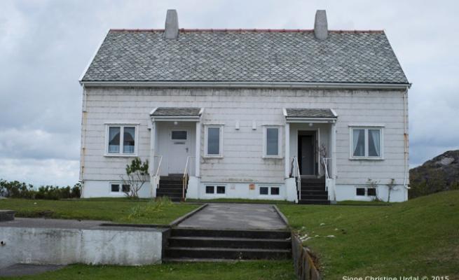 Urdal at Artist Residency at Utsira Light House